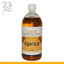 Öl Leinöl kaltgepresst für Pferde 1 Liter Omega-Fettsäuren