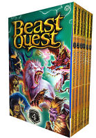 Beast Quest Series 4 - 6 Books Young Adult Collection Paperback By Adam Blade