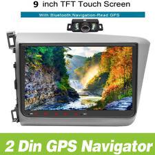Car Stereo NO DVD Radio GPS Navigation Bluetooth RDS For Honda Civic 2012+CAMERA