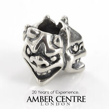 Original Trollbeads handmade silber Charm Tag Perlen 11533 UVP £ 60!!!