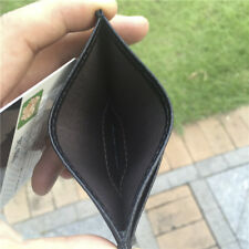 1Pc Super Slim Soft Wallet Mini Credit Card ID Card holder Men Purse Thin Small