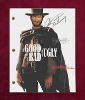The Good, The Bad & The Ugly Complete Movie Script With Reproduction Signatures