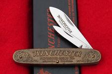 Winchester Model 1873 Bronze Pocket Knife - Limited Edition 1/1000 - USA 1987-1