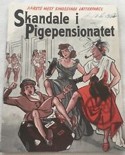 Skandal im Mädchenpensionat Walter Giller Lüders Vtg 1953 Danish Movie Program