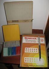 WEAREVER - Vintage 1959 PIONEER FOUNTAIN PENS #188C - Counter Display - NOS