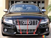NEW GENUINE AUDI A5 S LINE FRONT BUMPER DIFFUSER TRIM CHROME 8T08077172ZZ