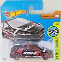 Hot Wheels  Ford Focus RS HW Speed Graphics Koni - short card