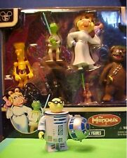 Disney Star Wars The Muppets Collectible Figures PVC Set of 6 + R2D2