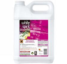 Blanco Spirit Desaromatise 5 Litros Olor Acero Diluyente Pintura Barniz Material