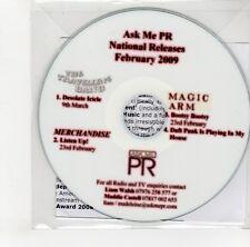 (GO94) The Travelling Band/Merchandise/Magic Arm, 4 track sampler - 2009 DJ CD