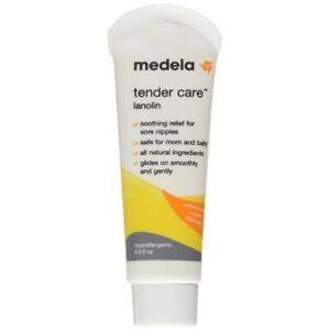 Medela, Tender Care, Lanolin Nipple Cream for Breastfeeding, All-Natural Nipple
