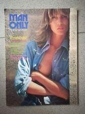 MAN ONLY ANNO 2 N.3-4 MARZO APRILE 1974 ILLUSTRATA RIVISTA EROTICA
