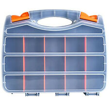 30 Compartment Double-Sided Storage Bag With Impact-Resistant Polymer Removable