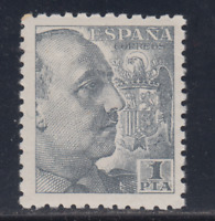 ESPAÑA (1940) NUEVO SIN FIJASELLOS MNH SPAIN - EDIFIL 930 (1 pta) FRANCO LOTE 2