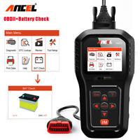 Ancel AD510 OBDII Diagnostic Tool Scanner Fault Code Reader With Battery Test