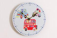 Transport Themed Childrens Bedroom Clock