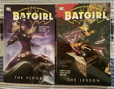 Batgirl The Flood + The Lesson TPB DC Comics Bryan Q. Miller Brand New