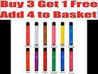 ELF BAR Disposable 600 or 1500 Puff Vape Pen Kit 20mg nic salt -Buy 3 Get 1 Free