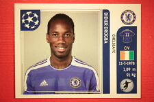 PANINI CHAMPIONS LEAGUE 2011/12 N. 292 DROGBA CHELSEA WITH BACK BACK MINT!!