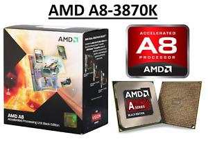 AMD A8-3870K Quad Core ''Llano'' Processor 3.0 GHz, Socket FM1, 100W CPU