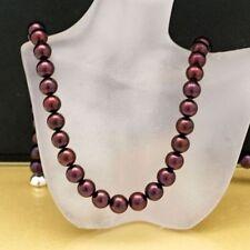 Perlen-Halsketten & -Anhänger im Collier-Stil mit versilberte für Damen