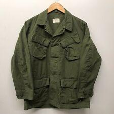 Vintage Jungle Fatigue Shirt / Rip-Stop, Size Small/Short, Us Army J-88