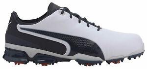 Puma Ignite Proadapt Golf Shoes 192766-04 White/Peacoat Men's New