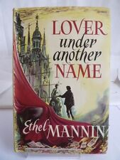 LOVER UNDER ANOTHER NAME by ETHEL MANNIN c1960s  WITH DUSTJACKET, BOOK CLUB