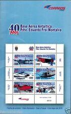 Chile 2010 Brochure 40 años Base Aerea Antartica Pdte. Eduardo Frei Montalva