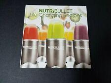Nutribullet Life Changing Book - Check Description & Pics