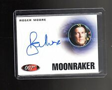 James Bond Archives Final Edition  A223 Roger Moore  Autographed card #2