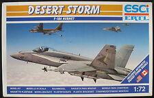 ESCI ERTL 9117 - F-18 A HORNET - 1:72 - Flugzeug Modellbausatz - Model KIT