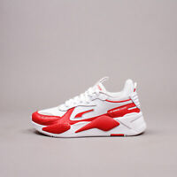 Puma RS X_ High Risk Red White Lifestyle Running Shoes New Men gym 374486-03