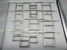 Lot of 13 Mixed Kodak Stainless Steel 3 1/4 x 4 1/4 2x3 Film Developing Hangers