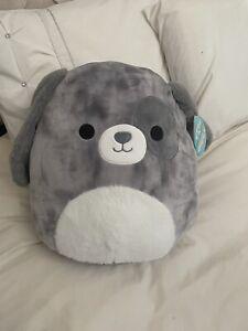 "BNWT Squishmallow16"" Gustavus the Puppy Dog Hard To Find"