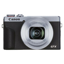 Canon PowerShot G7 X Mark III 20.2MP 4K Digital Camera 4.2x Optical Zoom Silver