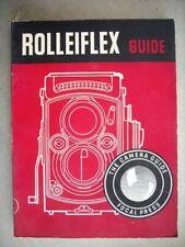 Rolleiflex Guide Focal Booklet W.D. Emanuel Camera 1953