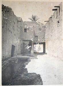 Photo Rue du Vieux Biskra L'Algérie Artistique et Pittoresque