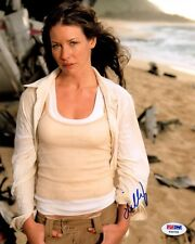 Evangeline Lilly Signed Autographed 8x10 Photo Kate Lost Rare Psa/Dna