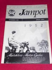 JAMPOT - AJS & MATCHLESS - July 1991 # 461