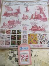 Sajou enorme museo & Heritage cross stitch chart-toile du jouy fabricación