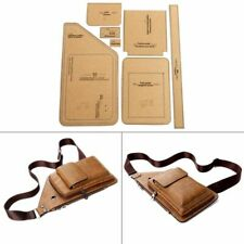 Chest Bag Sewing Pattern Hard Kraft Paper Stencil Template DIY Leather Fashion