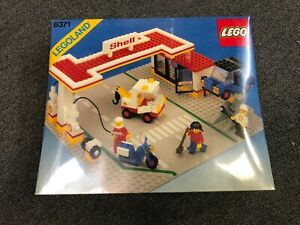LEGO Set 6371 Town Shell Gas Station New Sealed Unopened Ultra - Rare see pics