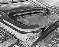 1945 OLD YANKEE STADIUM Glossy 8x10 Photo New York Yankees Print Baseball Poster