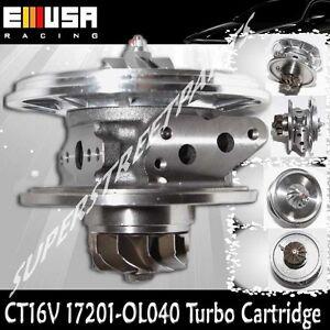 CT16V 17201-OL040 Turbo Cartridge for Toyota Land Cruiser D-4D 1KD-FTV