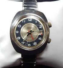 Vintage Mid Century Modern Gruen Precision Watch 17 Jewels w Alarm