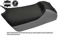 BLACK & GREY CUSTOM FITS SKI DOO ZX MXZ 600 800 700 99-04 VINYL SEAT COVER