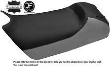 BLACK & GREY CUSTOM FITS SKI DOO ZX MXZ 600 800 700 99-04 VINYL SEAT COVER