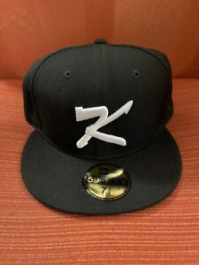 New Era 59Fifty Fitted South Korea Flag Hat Cap Size 7 3/8 Black NWT RARE