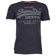 Camisas casuales de hombre Superdry color principal azul